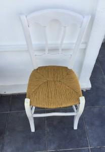 le chti rempailleur décape vos chaises par aerogommage  modele de chaises peint et paille neuve