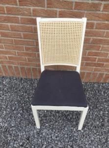 le chti rempailleur fait le cannage a la main de vos  chaises anciennes    chaises APRES TRAVAUX de WAMBRECHIES